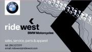 Ride West BMW