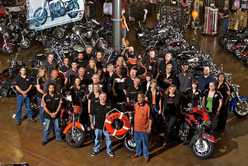 , at Bayside Harley-Davidson in Portsmouth, Va.,